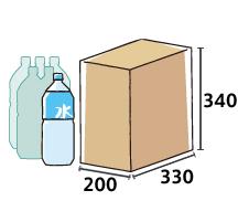 ペットボトル2L×6本箱