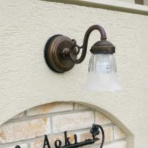 ディーズライトブラケットグラスランプ+照明取付セットA