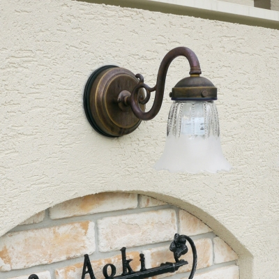 ディーズライトブラケットグラスランプ+照明取付セットB