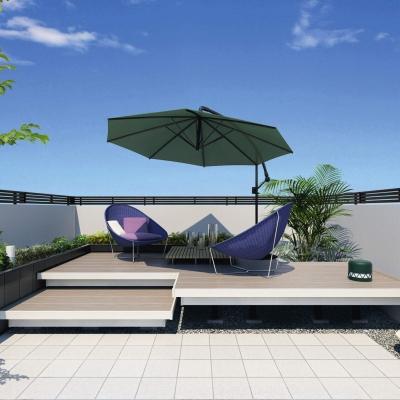ガーデンフロア ラステラ 間口2820×出幅1967㎜ 標準納まり 束柱(標準)