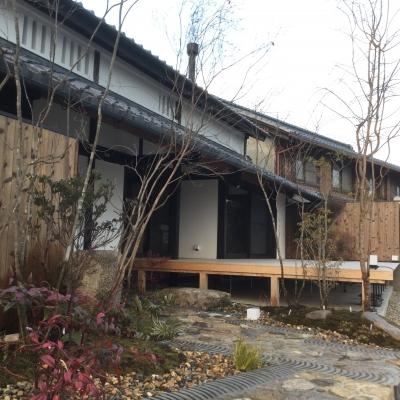 仰木の庭 ~プライベートチャペルのある家~