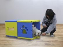 アジリティ トイ・トンネル (屋内・小型犬用)