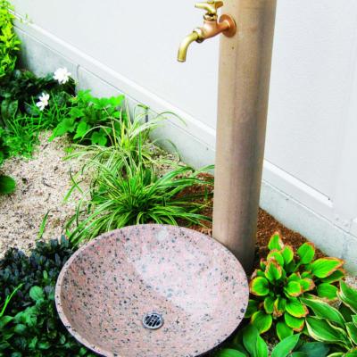GARDEN PAN 石の水鉢・水板