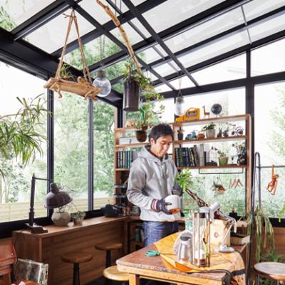 ガーデンルーム GF テラスサッシ 2.0間×6尺